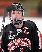 Annie Hogan (NU - 3) - The Harvard University Crimson defeated the Northeastern University Huskies 1-0 to win the 2010 Beanpot on Tuesday, February 9, 2010, at the Bright Hockey Center in Cambridge, Massachusetts.