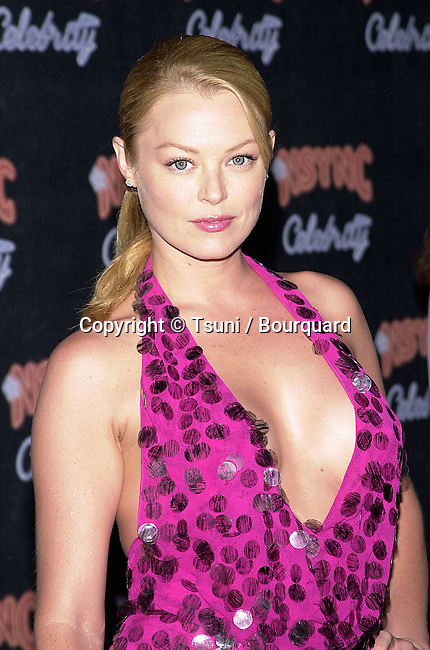 """Charlotte Ross arriving at the """" N'Sync and Jive Records party """" at the Moomba in Los Angeles. July 23, 2001    © Tsuni          -            RossCharlotte07.jpg"""