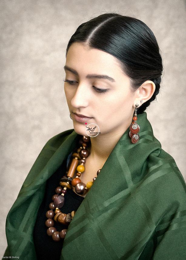 Vintage 1930s Mexican Genre. <br /> Hair &amp; Makeup by Robin Sullivan.