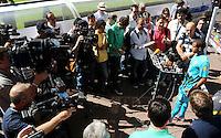 HAMBURGO, ALEMANHA, 25 DE MAIO DE 2012 - TREINO DA SELECAO BRASILEIRA -  O jogador Lucas durante treino preparatorio da selecao brasileira, o Brasil enfrenta amanha a Dinamarca tambem Arena of Hamburg Imtech em amistoso internacional, na cidade de Hamburgo na Alemanha. (FOTO: MICHAEL SCHWARTZ / BRAZIL PHOTO PRESS).