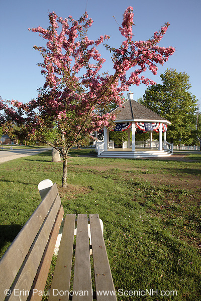 The Town Common.....Hampton Falls, New Hampshire, which is part of New England..Notes: