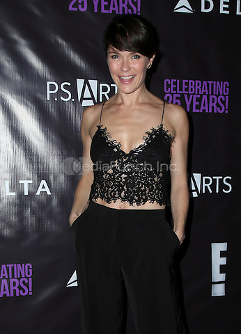 LOS ANGELES, CA - MAY 20: Katie Aselton attends P.S. Arts' The pARTy at NeueHouse Hollywood on May 20, 2016 in Los Angeles, California. Credit: Parisa/MediaPunch.