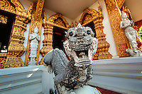A temple in Chiang Mai, Thailand.