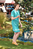 Ruby Barnhill at the UK premiere of 'The BFG' at the Odeon Leicester Square, London.<br /> July 17, 2016  London, UK<br /> Picture: Steve Vas / Featureflash