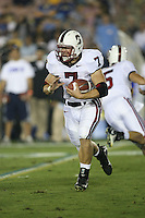 1 October 2006: Toby Gerhart during Stanford's 31-0 loss to UCLA at the Rose Bowl in Pasadena, CA.