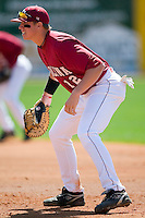South Carolina first baseman Justin Smoak (12) on defense versus LSU at Sarge Frye Stadium in Columbia, SC, Thursday, March 18, 2007.