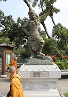 General views The Twelve Divine Generals - The General Mihira - at Ngong Ping Village, Lantau Island, Hong Kong on 6.4.19.