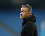 Luis Enrique manager of Barcelona during the Champions League Group C match at the Etihad Stadium, Manchester. Picture date: November 1st, 2016. Pic Simon Bellis/Sportimage