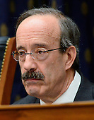 """United States Representative Eliot Engel (Democrat of New York) Ranking Member, U.S. House Committee on Foreign Relations, prepares to listen to U.S. Secretary of State Hillary Rodham Clinton give testimony before the committee on """"Terrorist Attack in Benghazi: The Secretary of State's View"""" in Washington, D.C. on Wednesday, January 23, 2013.  This is Engel's first hearing as Ranking Member..Credit: Ron Sachs / CNP.(RESTRICTION: NO New York or New Jersey Newspapers or newspapers within a 75 mile radius of New York City)"""