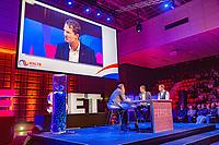 Rotterdam, Netherlands, December 15,  2017, Topsportcentrum,  Coaches Congress with Kristie Bogert and Jacco Eltingh<br /> Photo: Tennisimages/Henk Koster