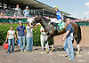 Early Eddie winning at Delaware Park on 6/23/12