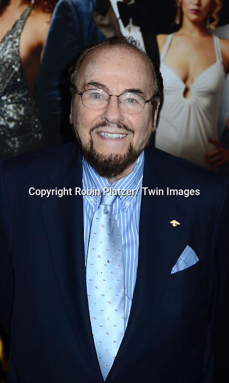 """James Lipton arrives at the World Premiere of """"American Hustle"""" on December 8, 2013 at The Ziegfeld Theatre in New York City."""