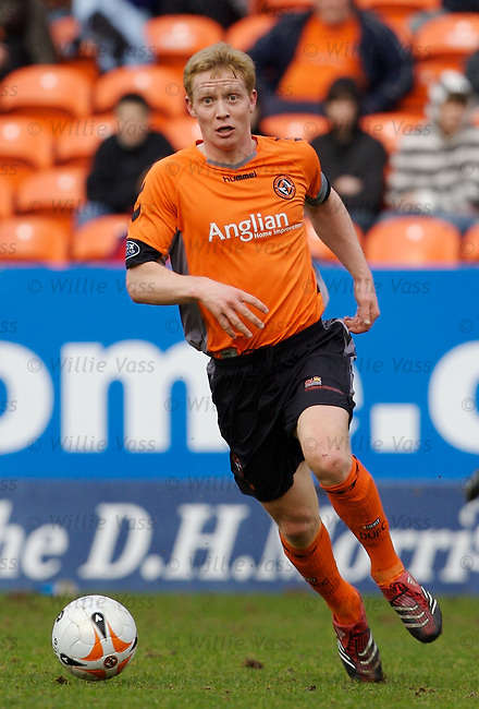 Barry Robson, Dundee Utd.stock season 2006-2007.pic willie vass