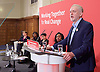 Jeremy Corbyn MP<br /> Human Rights speech and panel discussion <br /> Leader of the Labour Party <br /> arriving at Central Methodist Hall, Westminster, London, Great Britain <br /> 10th December 2016 <br /> <br /> Emily Thornberry, Diane Abbott, Shami Chakrabarti , Dawn Butler, Jeremy Corbyn <br /> <br /> <br /> Photograph by Elliott Franks <br /> Image licensed to Elliott Franks Photography Services