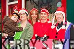 Daniel and Margaret Creedon, Anna Kerins, MichelleDoyle and Eileen Hayes y at the Killarney Jingle run on Sunday