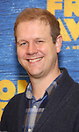 David Hein attends the press day for Broadway's 'Come From Away' at Manhattan Movement and Arts Center on February 7, 2017 in New York City.