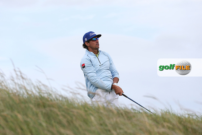 Rafa Cabrera-Bello (ESP) lost ground on the leaders during Round Three of the 2015 Aberdeen Asset Management Scottish Open, played at Gullane Golf Club, Gullane, East Lothian, Scotland. /11/07/2015/. Picture: Golffile | David Lloyd<br /> <br /> All photos usage must carry mandatory copyright credit (&copy; Golffile | David Lloyd)