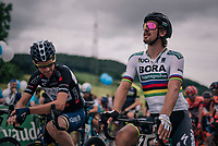World Champion Peter Sagan (SVK/Bora-Hansgrohe) at the start<br /> <br /> Stage 4: Gansingen &gt; Gstaad (189km)<br /> 82nd Tour de Suisse 2018 (2.UWT)