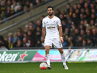 Jordi Amat of Swansea   during the Emirates FA Cup 3rd Round between Oxford United v Swansea     played at Kassam Stadium  on 10th January 2016 in Oxford