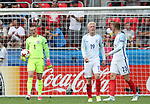 England's Jordan Pickford looks on dejected after Germany's opening goal during the UEFA Under 21 Semi Final at the Stadion Miejski Tychy in Tychy. Picture date 27th June 2017. Picture credit should read: David Klein/Sportimage