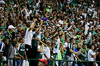 PALMASECA-COLOMBIA,02 -11-2018.Acción de juego entre el Deportivo Cali ante el Independiente Medellín durante el primer partido por la final de la Copa  Águila II 2019 jugado en el estadio Deportivo Cali de la ciudad de Palmira./ <br /> Action game between teams  Deportivo Cali and Independiente Medellín during the first match for the 2019 Águila II Cup final played at the Deportivo Cali stadium in the city of Palmira. Photo: VizzorImage/ Nelson Rios / Contribuidor