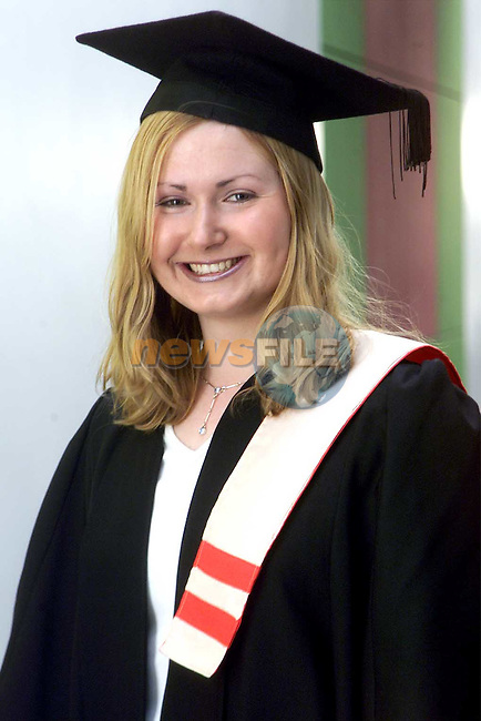 Adeline McGuinness from Stameen who received a National certificate in office Information Systems and French at the Dundalk Institute of Technology Conferring Day..Picture: Paul Mohan/Newsfile