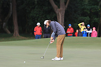 Tommy Fleetwood (ENG) on the 13th green during Round 1 of the UBS Hong Kong Open, at Hong Kong golf club, Fanling, Hong Kong. 23/11/2017<br /> Picture: Golffile | Thos Caffrey<br /> <br /> <br /> All photo usage must carry mandatory copyright credit     (&copy; Golffile | Thos Caffrey)