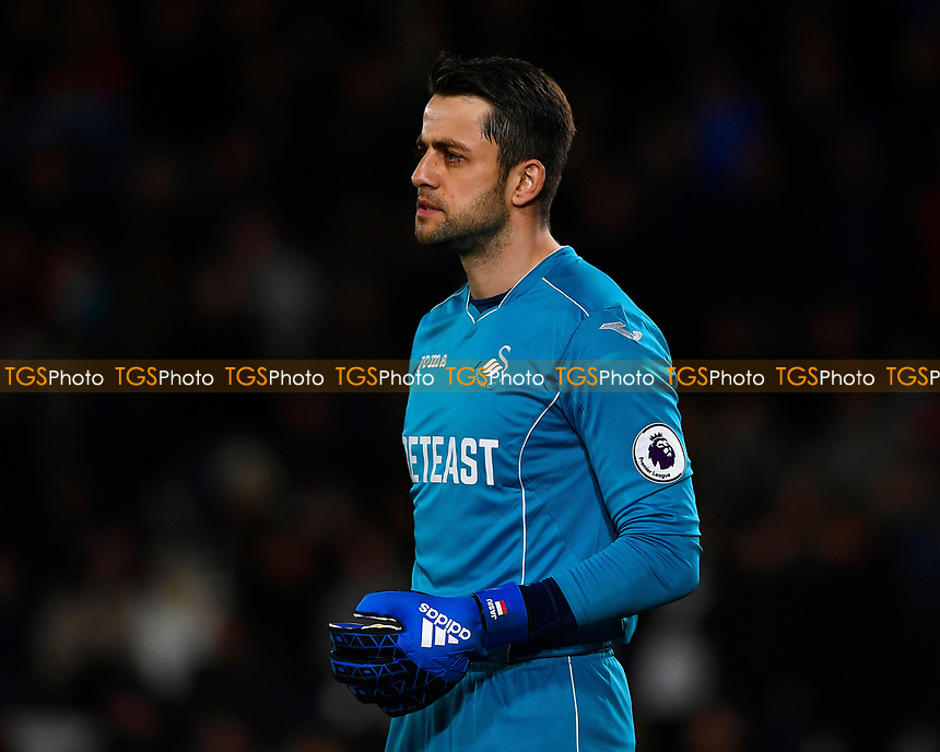 Lukasz Fabianski of Swansea City during AFC Bournemouth vs Swansea City, Premier League Football at the Vitality Stadium on 18th March 2017
