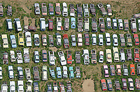 Car junkyard near Dacono, Colorado. June 2014. 85379