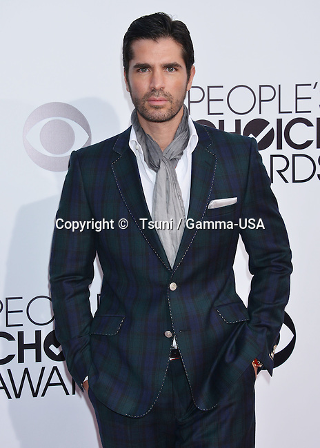 Eduardo Verastegui  at the People Choice Awards 2014 at the Nokia Theatre in Los Angeles.