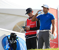 Julian Suri (USA) on the 18th tee during Round 4 of Made in Denmark at Himmerland Golf &amp; Spa Resort, Farso, Denmark. 27/08/2017<br /> Picture: Golffile | Thos Caffrey<br /> <br /> All photo usage must carry mandatory copyright credit     (&copy; Golffile | Thos Caffrey)