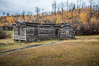 "The old log cabin is called Shane Cabin in reference to the movie ""Shane"" which was filmed here in 1952."