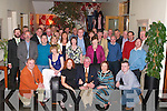 5537- 5541.RETIREMENT: A retirement party was held at Ballyroe Heights Hotel on Friday by management and staff of FAS for Liam Walsh, Finuge (seated centre) who retired after 30 years as an Instructor in the Motor Mechanics Dept at FAS, Monavalley Industrial Estate, Tralee.