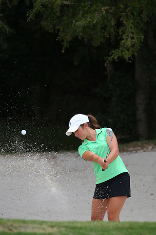 Denton, TX - AUGUST 31: University of North Texas Women's Golf Team McKenzie Ralston at Bridlewood Country Club on August 31, 2012 in Flower Mound, Texas. (Photo by Rick Yeatts)