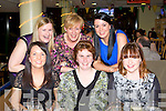 TRACK TIME: The staff of Liebherr, Killarney enjoying  night out at the Kingdom Greyhound Stadium on Saturday seated l-r: Christina Myers, Laura Furlong and Sandra Moynihan. Back l-r: Deirdre Kellihrer, Eileen Reen and Tracy O'Sullivan.