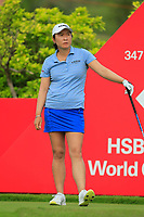 Candie Kung (USA) in action on the 6th during Round 2 of the HSBC Womens Champions 2018 at Sentosa Golf Club on the Friday 2nd March 2018.<br /> Picture:  Thos Caffrey / www.golffile.ie<br /> <br /> All photo usage must carry mandatory copyright credit (&copy; Golffile | Thos Caffrey)