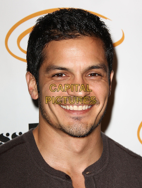 "NICHOLAS GONZALEZ. Lupus LA Raises Awareness with ""Get Lucky for Lupus"" held At Andaz Hotel, West Hollywood, California, USA..February 25th, 2010.headshot portrait stubble facial hair goatee black .CAP/ADM/KB.©Kevan Brooks/AdMedia/Capital Pictures."