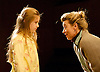 Far Away <br /> by Caryl Churchill<br /> at The Young Vic, London, Great Britain <br /> press photocall<br /> 12th November 2014<br /> <br /> <br />  Sasha Willoughby <br /> Tamzin Griffin <br /> <br /> <br /> Photograph by Elliott Franks <br /> Image licensed to Elliott Franks Photography Services