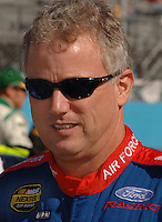 Nov 13, 2005; Avondale, AZ, USA; Nascar Nextel Cup driver (21) Ricky Rudd during the Checker 500 at Phoenix International Raceway. Mandatory Credit: Mark J. Rebilas