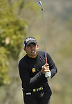 JEJU, SOUTH KOREA - APRIL 25:  Pablo Larrazabal of Spain tees off on the 14th hole during the Round Three of the Ballantine's Championship at Pinx Golf Club on April 25, 2010 in Jeju, South Korea. Photo by Victor Fraile / The Power of Sport Images