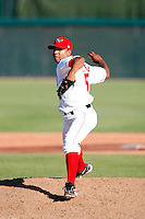 Almeida Yeison of the Orem Owlz (2009 Pioneer League) playing against the Casper Ghosts in Orem, UT - 07/26/2009..Photo by:  Bill Mitchell/Four Seam Images..