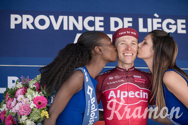 Stage winner Maurits Lammertink (NED/Katusha Alpecin)<br /> <br /> Baloise Belgium Tour 2017 (2.HC)<br /> Stage 4: Ans-Ans 167,8km