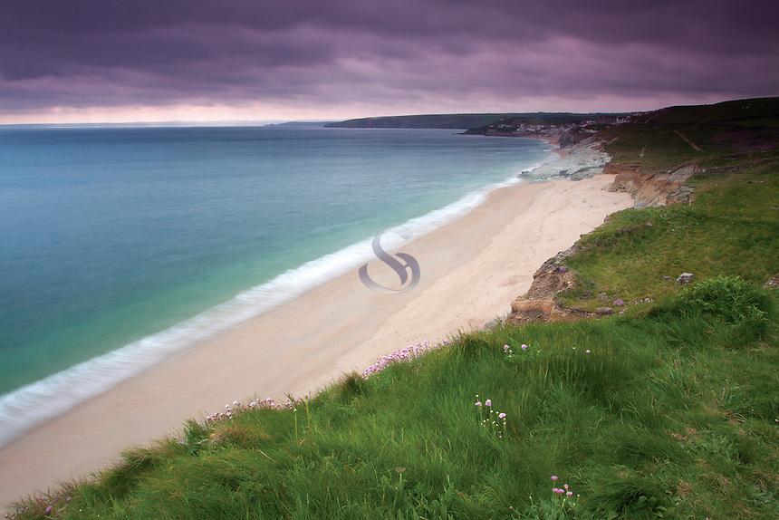 Porthleven Sands near Porthleven, Cornwall