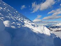 JAN 09 Davos - snow scene