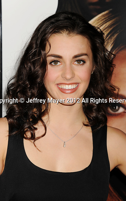 HOLLYWOOD, CA - FEBRUARY 21: Kathryn McCormick  attends the 'Gone' Los Angeles Premiere at ArcLight Cinemas on February 21, 2012 in Hollywood, California.