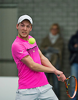 Rotterdam, Netherlands, Januari 24, 2016,  ABNAMROWTT Supermatch, Tim Blankert (NED)<br /> Photo: Tennisimages/Henk Koster
