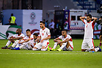 Jordan players react in the penalty shoot-out during the AFC Asian Cup UAE 2019 Round of 16 match between Jordan (JOR) and Vietnam (VIE) at Al Maktoum Stadium on 20 January 2019 in Dubai, United Arab Emirates. Photo by Marcio Rodrigo Machado / Power Sport Images