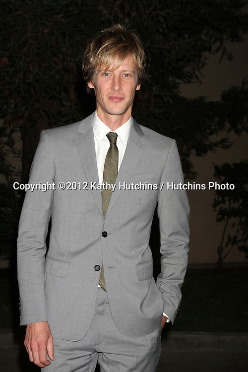 LOS ANGELES - SEP 29:  Gabriel Mann arrives at the 2012 Environmental Media Awards at Warner Brothers Studio on September 29, 2012 in Burbank, CA
