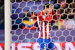 Atletico de Madrid's player Diego Godín during a match of La Liga at Santiago Bernabeu Stadium in Madrid. November 06, Spain. 2016. (ALTERPHOTOS/BorjaB.Hojas)