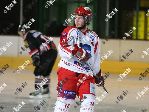 2010-03-20 / ijshockey / seizoen 2009-2010 / Herentals / Richard Steadman..Foto: Mpics